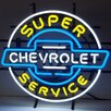 <strong>Neonetics</strong> Cars & Motorcycles GM Chevrolet Service Neon Sign