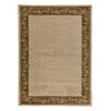 <strong>Infinity Home</strong> Barclay Ivory Terrazzo Floral Border Rug