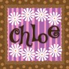 <strong>Flowers Personalized Canvas Art</strong> by Green Leaf Art