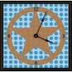 "Green Leaf Art Lone Star 11"" Art Wall Clock"