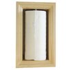 WG Wood Products In the Wall Paper Towel Holder