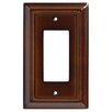 Liberty Hardware Wood Architectural Single Decorator Wall Plate