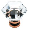 """<strong>Decorative Acrylic Faceted 1.24"""" Novelty Knob</strong> by Liberty Hardware"""