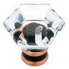 """Liberty Hardware Decorative Acrylic Faceted 1.24"""" Novelty Knob"""