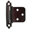 "<strong>Liberty Hardware</strong> Decorative Self-Closing Overlay 2.76"" Hinge (Set of 2)"