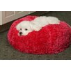 Silky Fleece Ball Dog Pillow
