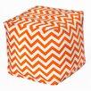 <strong>Chevron Bean Bag Cube Ottoman</strong> by OC Fun Saks