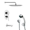 <strong>Tyga Pressure Balance Tub and Shower Faucet</strong> by Remer by Nameek's
