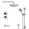 <strong>Remer by Nameek's</strong> Galiano Pressure Balance Tub and Shower Faucet