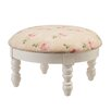 <strong>Floral Foot Stool</strong> by CBK