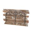 CBK Rustic Wall Decor with Distressed Wood Planks