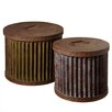 CBK 2 Piece Round Storage Set