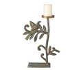 <strong>Large Bird Iron Candlestick</strong> by CBK
