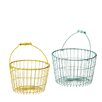CBK Wire Nested Basket with Handle (Set of 2)