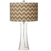 "CBK Chevron 29"" H Table Lamp with Drum Shade (Set of 2)"