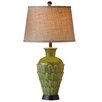 "CBK Reactive Glaze Petal 32"" H Table Lamp with Empire Shade (Set of 2)"