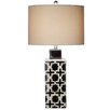 "CBK Geometric 30.5"" H Table Lamp with Drum Shade (Set of 2)"