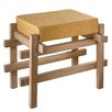 CBK Block Stool with Upholstered Seat