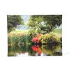 <strong>Art Wall</strong> ''Santee Lakes'' by George Zucconi Photographic Print on Canvas
