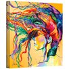 Art Wall 'Windswept' by Linzi Lynn Painting Print on Canvas