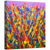 """Art Wall """"Growing Wild"""" by Susi Franco Painting Print on Canvas"""