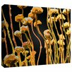 Art Wall 'Geo Garden Dew' by Dean Uhlinger Print of Painting Gallery-Wrapped on Canvas