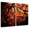 <strong>'Fire Breather: Japanese Tree' by John Black 2 Piece Photographic P...</strong> by Art Wall