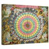 <strong>Antique ''Pyxis Nautica Compass Charte'' Graphic Art on Canvas</strong> by Art Wall