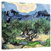 <strong>Art Wall</strong> ''Olive Trees'' by Vincent Van Gogh Original Painting on Canvas