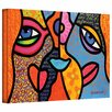 <strong>'Eye to Eye' by Steven Scott Painting Print on Canvas</strong> by Art Wall