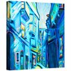 Art Wall 'Magical Alleys of Venice' by Susi Franco Painting Print on Canvas