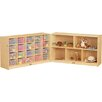 Jonti-Craft Fold-n-Lock 15 Compartment Cubby