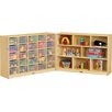 <strong>Fold-n-Lock 33 Compartment Cubby</strong> by Jonti-Craft