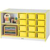 Jonti-Craft Rainbow Accents 14 Compartment Cubby