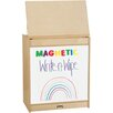 Jonti-Craft ThriftyKYDZ Big Book Easel - Magnetic Write-n-Wipe