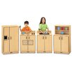 Jonti-Craft ThriftyKYDZ 4 Piece Birch Kitchen Set