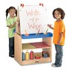 <strong>Rainbow Accents 2 Station Easel</strong> by Jonti-Craft