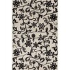 <strong>Filament  LLC</strong> Cinzia Off-White/Black Floral Rug