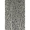 Filament  LLC Cinzia Black / Grey Abstract Area Rug