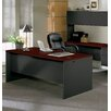 "<strong>438000 Series 72"" W Double Pedestal Executive Desk</strong> by HON"