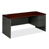<strong>HON</strong> 38000 Series Pedestal Office Desk Return