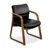 HON 2900 Series Guest Chair with Wood Sled Base