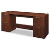 <strong>Attune Series Computer Desk with Credenza with Kneespace</strong> by HON