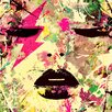 "Femme Fatale ""Thunder Struck"" Canvas Art"