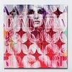 """Femme Fatale """"Amour"""" Canvas Art"""