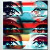 "Femme Fatale ""Eye Candy"" Canvas Art"