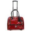 Cabrelli Inc Patent Quilted Laptop Briefcase