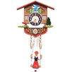 <strong>Black Forest</strong> Battery Operated Chalet Cuckoo Clock