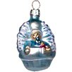 Alexander Taron Polish Glass Hand-Blown Baby Ornament