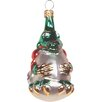 Alexander Taron Polish Hand Blown Glass Dragon Ornament